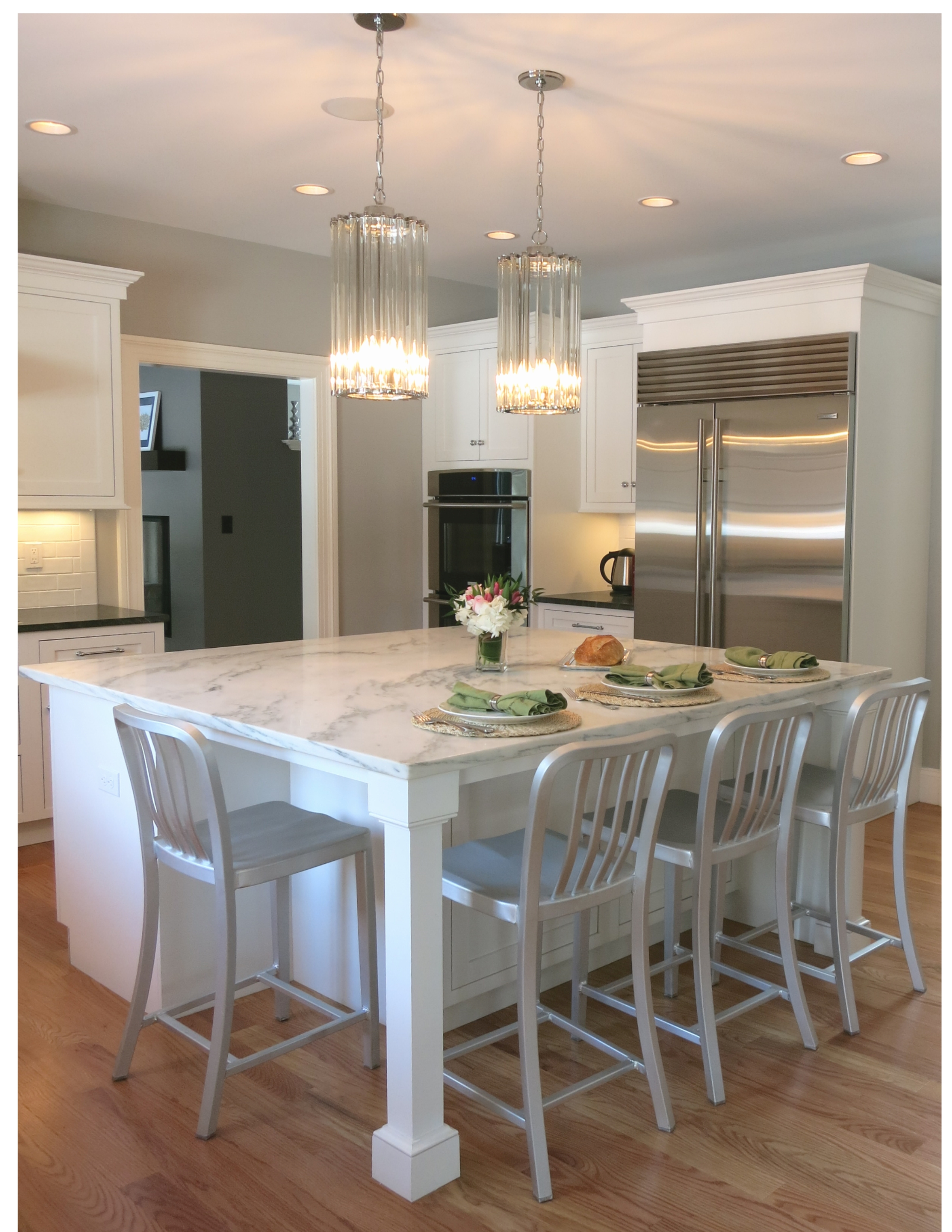 Great Northern beaded inset kitchen