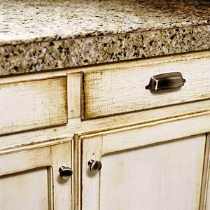 Distressed Cabinetry Finishes