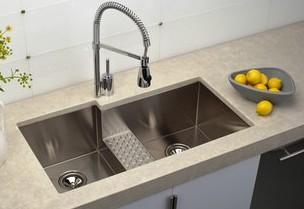 double bowl undermount sinks