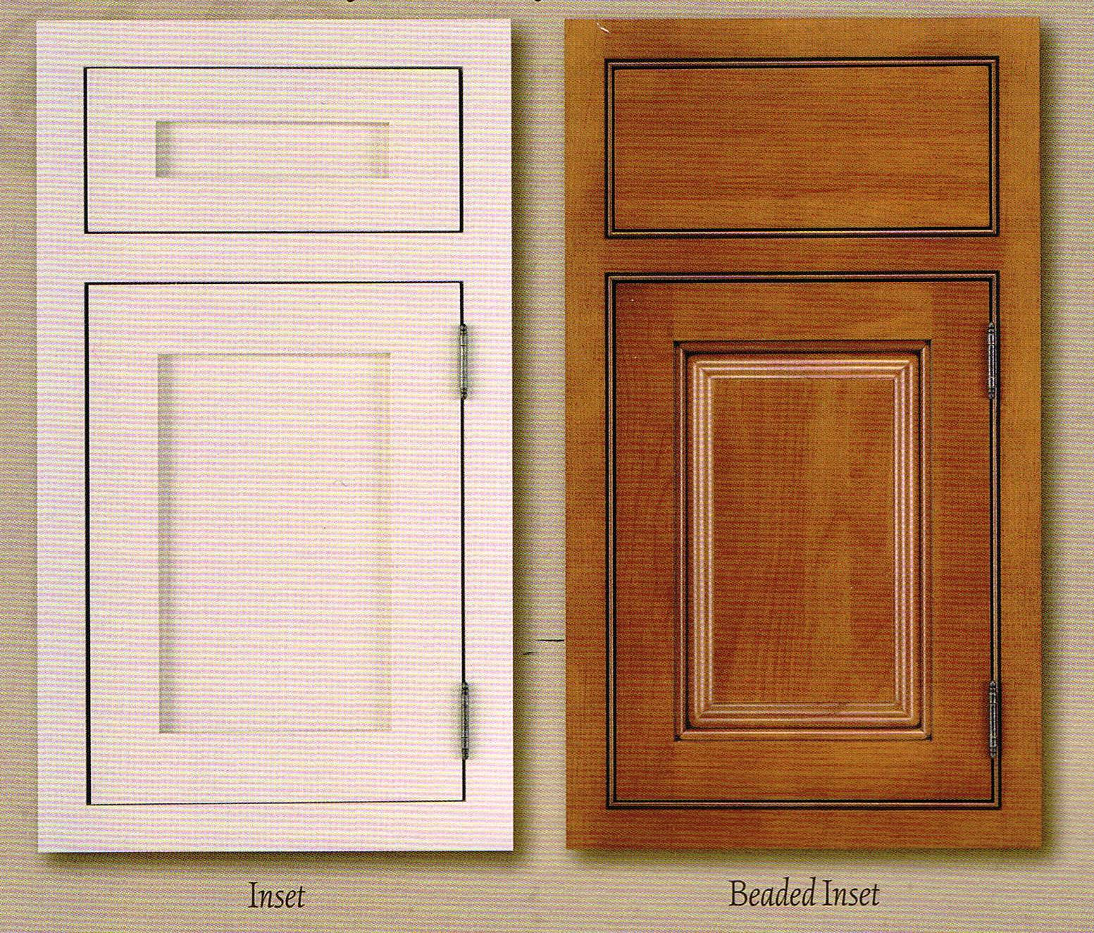 Cabinetry with inset drawers and doors cabinet doors for Kitchen cabinet doors