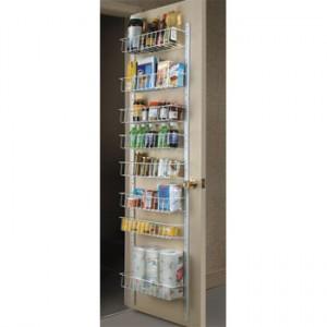 Pantry Door Storage Rack Kitchen Solutions