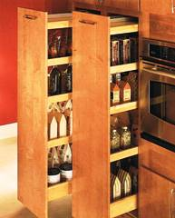 Pullout Pantry cabinet