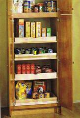Pantry with Rollouts