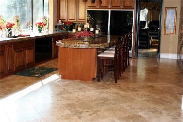 kitchen stone flooring - Stone Flooring For Kitchen