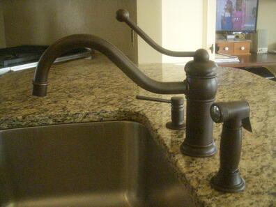 Victorian kitchen faucet