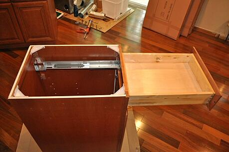 Cabinet Drawer Box Construction