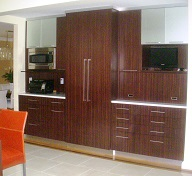 microwave oven cabinet design