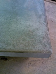concrete countertop kitchen