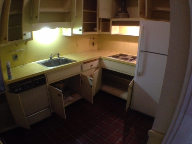 Old kitchen - look for remodel!