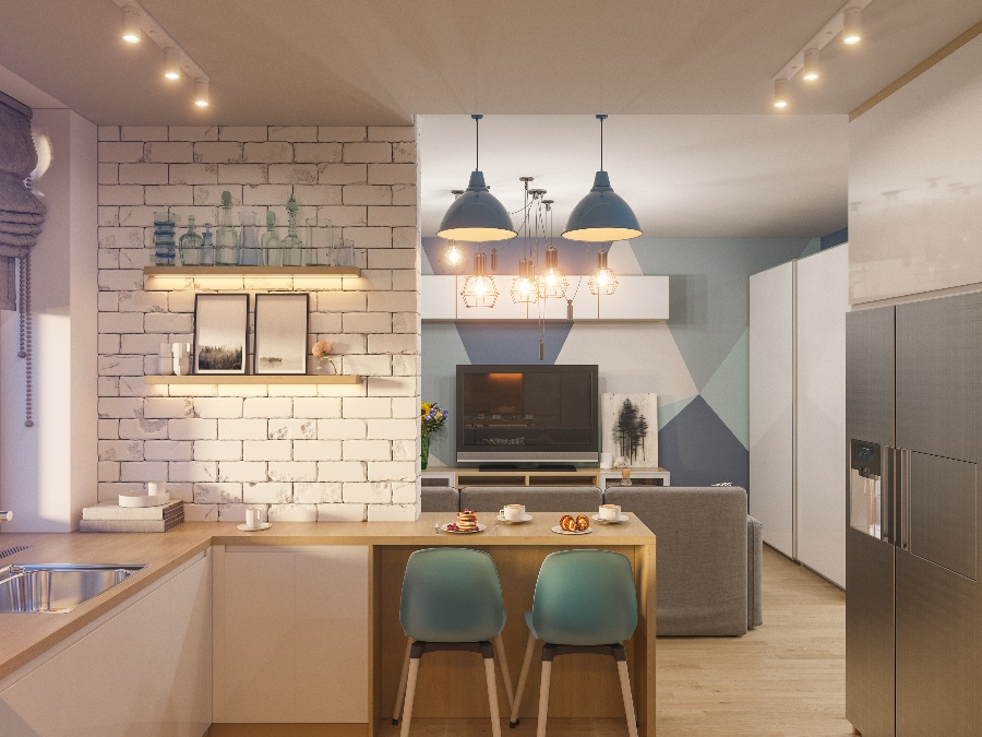 Which are the Best Interior Designs for Small Kitchens?