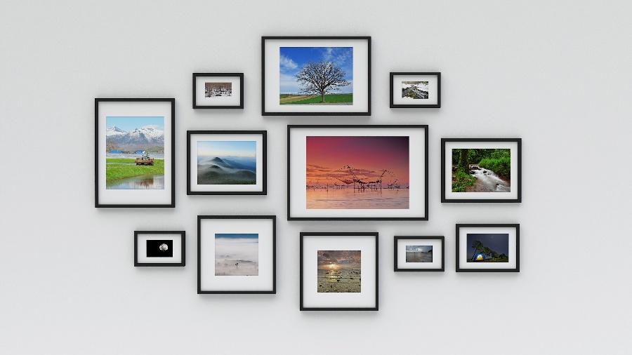 photos as wall art