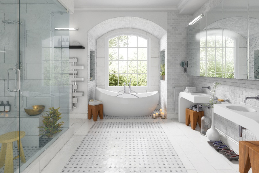 8 Ideas for Better Living Design in the Bath