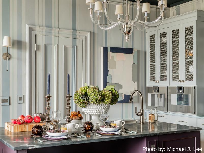 Edesia Kitchen & Bath Studio Restores Charming Belmont Villa Kitchen