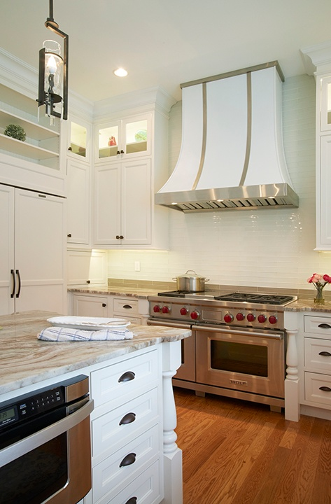 white inset cabinetry