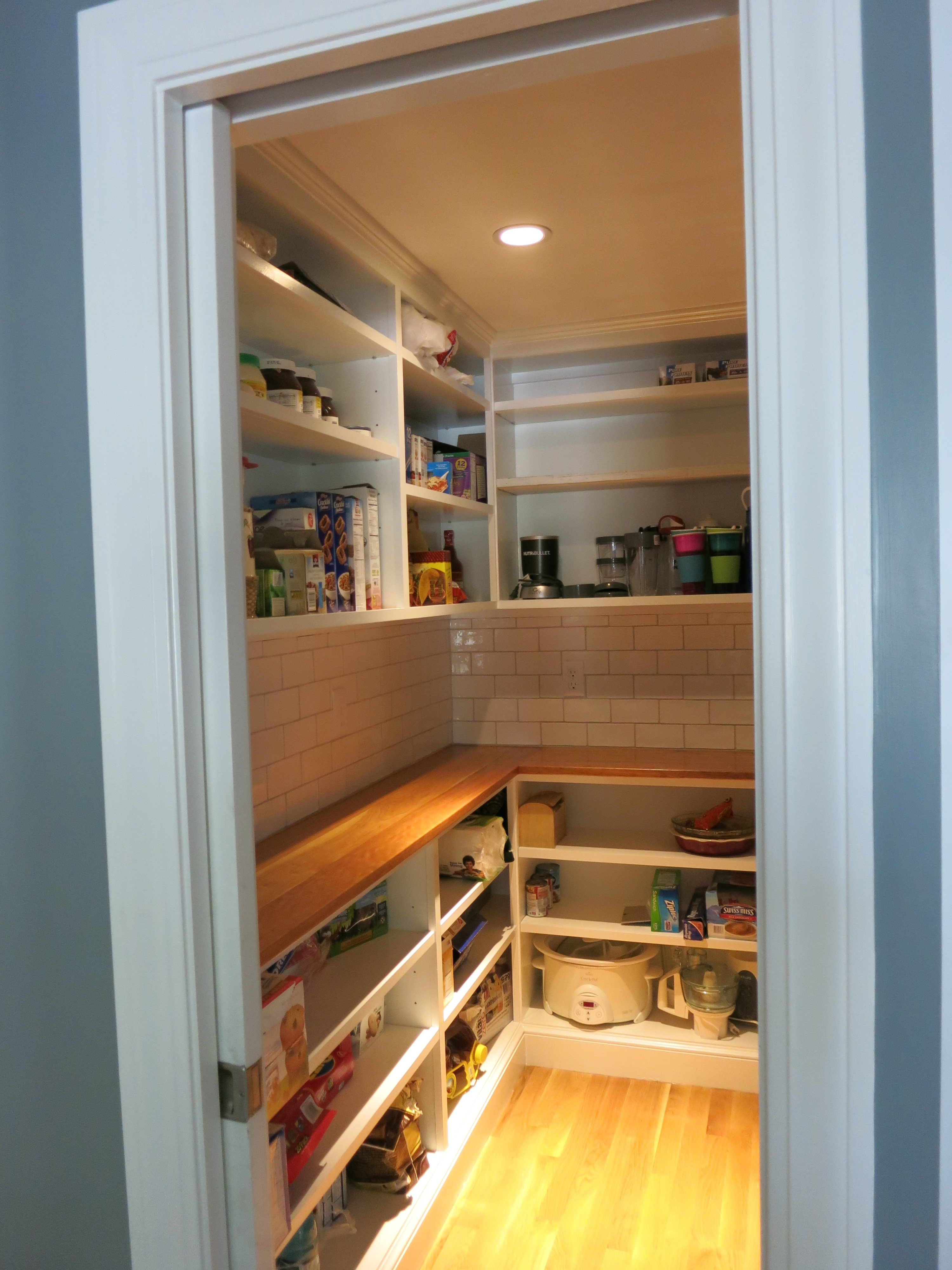Smart Walk-In Pantry Storage Solutions