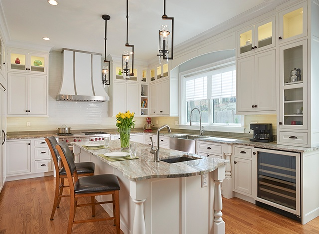 Exceptional White Inset Cabinetry. Classic White Inset Kitchen