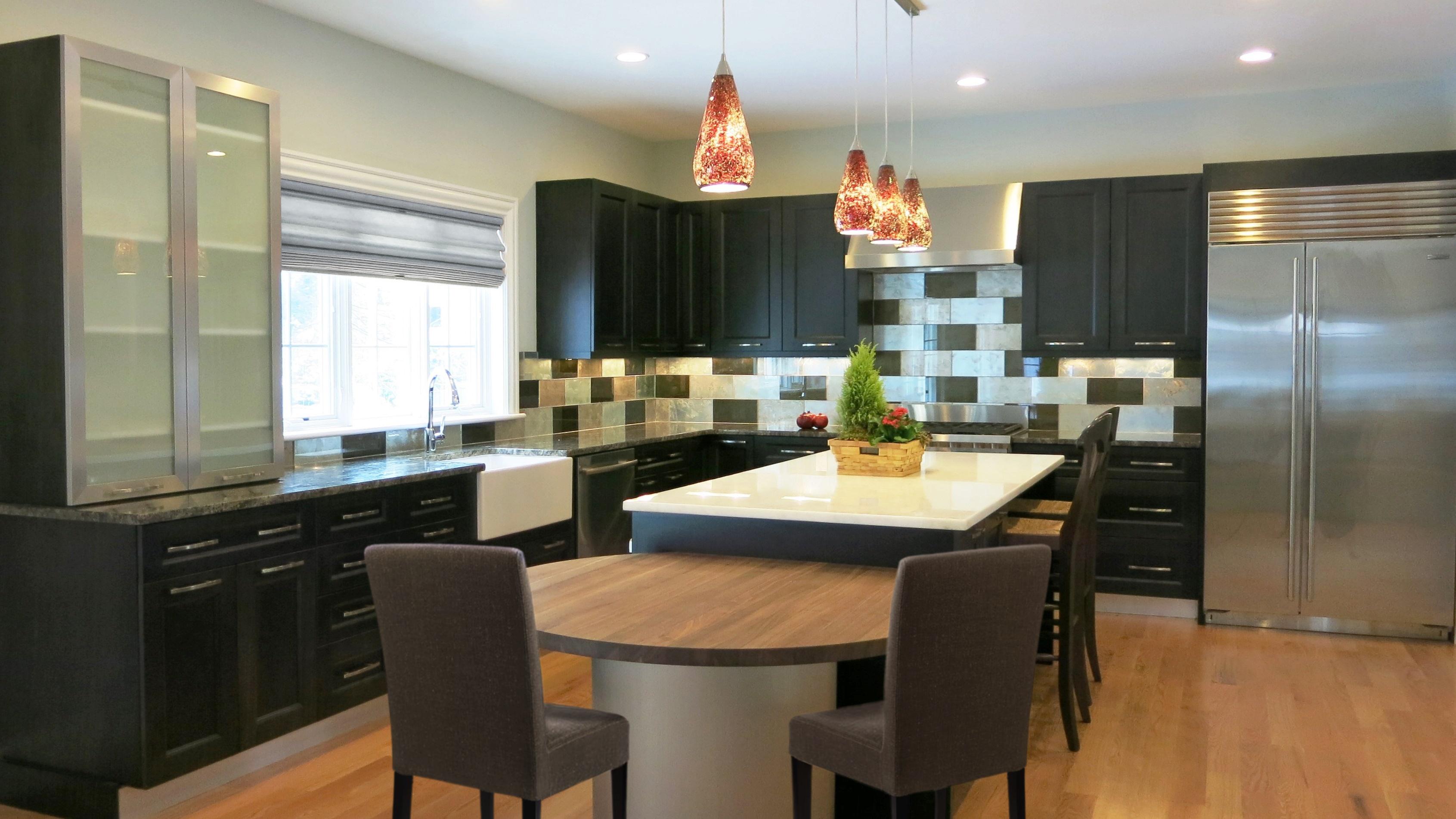Newton contemporary kitchen